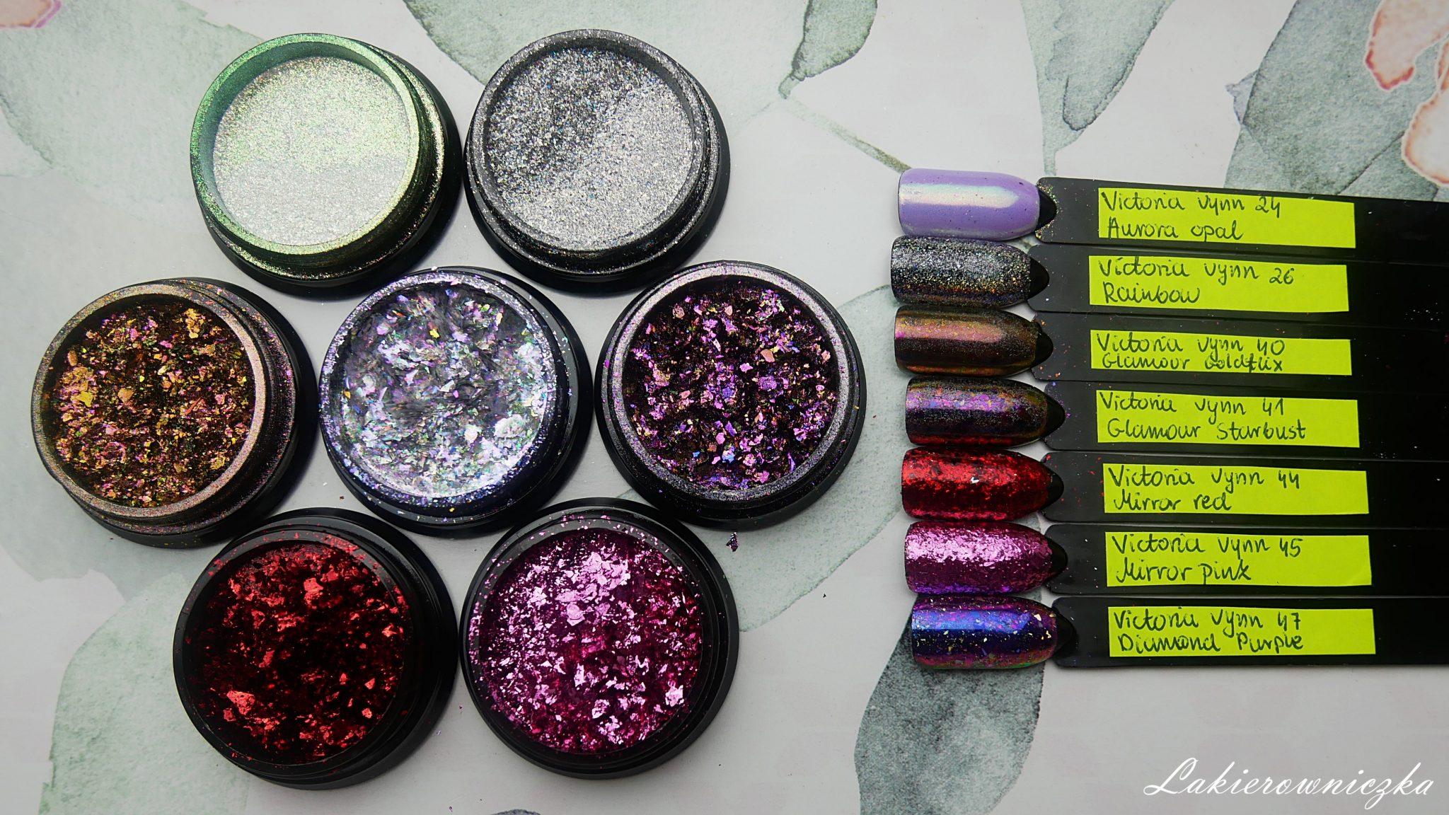 najpiekniejszy-pylek-do-paznokci-victoria-vynn-77-diamond-purple-45-mirror-pink-44-red-41-glamour-starbust-40-goldflix-26-rainbow-24-aurora-opal-Lakierowniczka-najpiękniejszy pyłek do paznokci