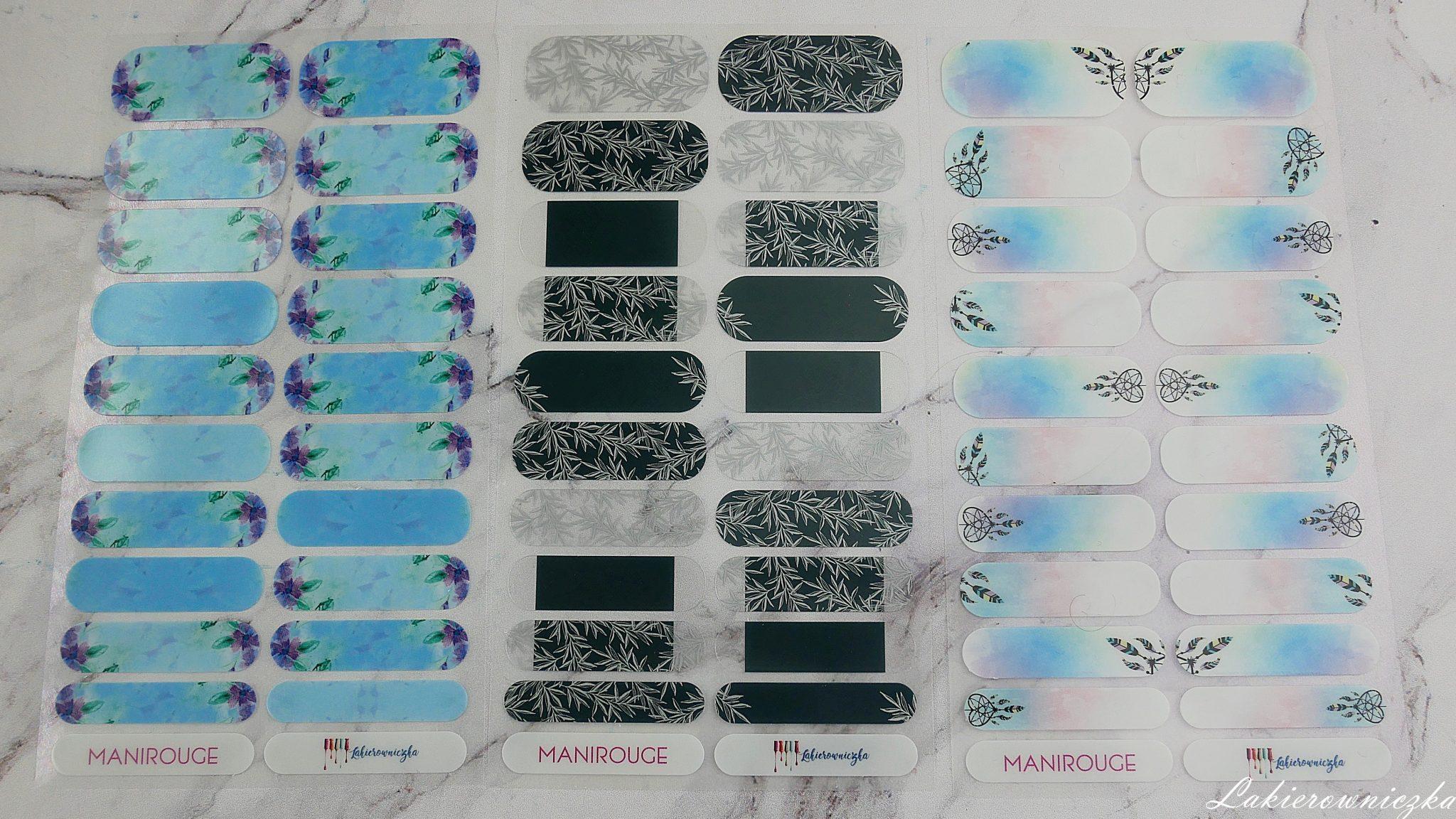 moje-naklejki-termiczne-manirouge-projekt-Lakierowniczka-lapacze-snow-blur-effect-liscie-butelkowa-zielen-kwiaty-niebieskie-alternatywa-dla-hybrydy