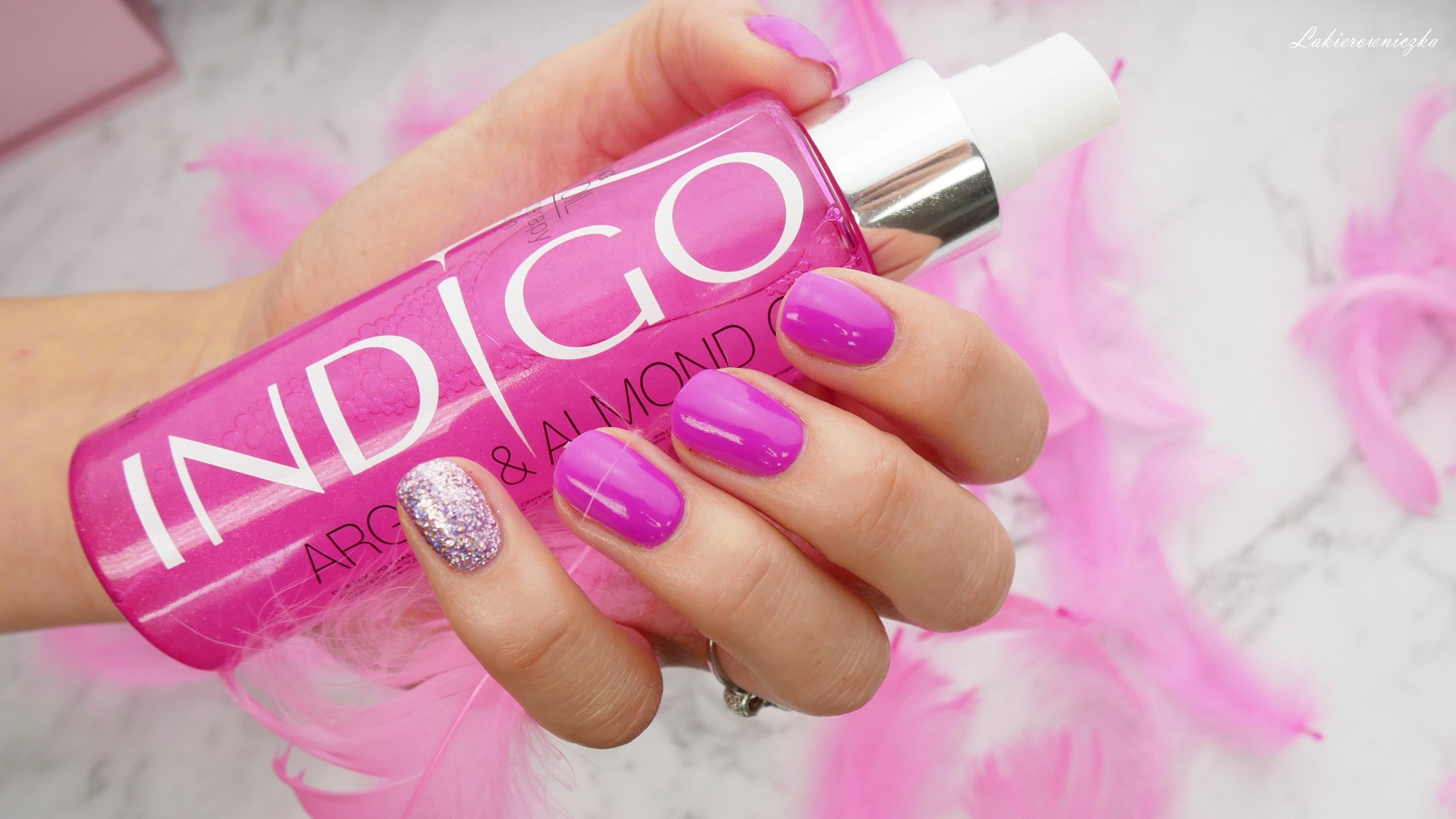 Indigo-olejek-arganowy-bling-blingbling-indigonails-olejekarganowy-Victoria-vynn-219-orchid-purple-223-rose-diamond-carat-Lakierowniczka-Indigo olejek arganowy Bling bling
