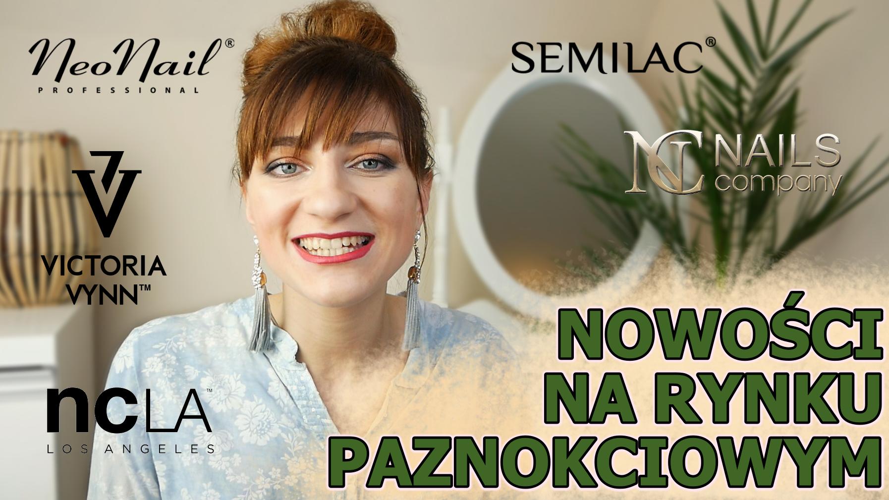 Nowości na rynku paznokciowym- NOWA SERIA - Lakierowniczka