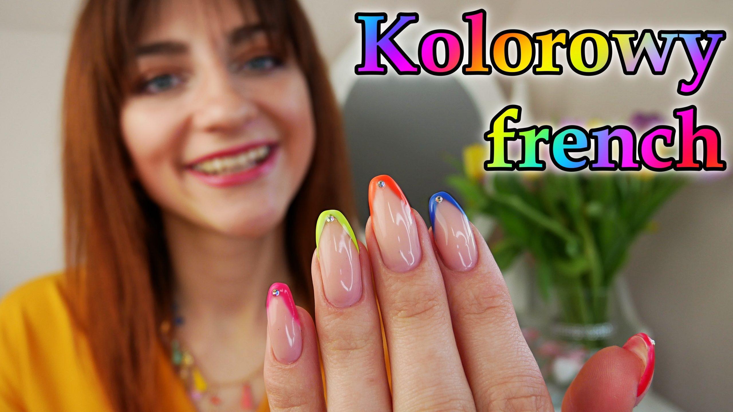 Kolorowy-francuski-colorful-french-Lakierowniczka-kolorowe-paznokcie-na-wiosne-color-nails