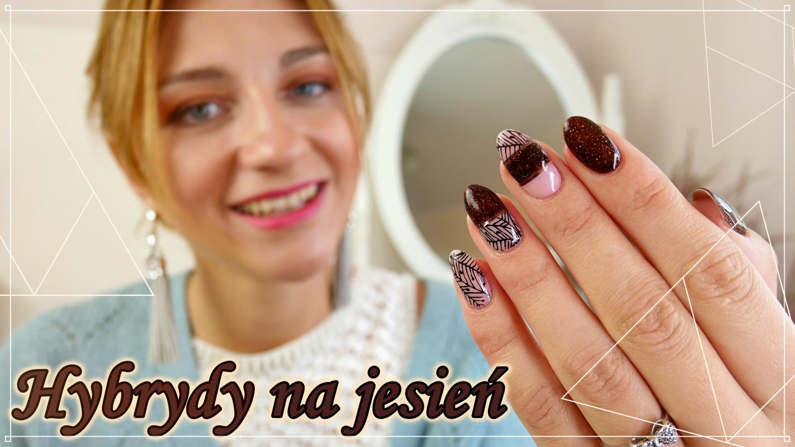 Jesienne-paznokcie-hybrydowe- autumn-nailart-fall-Madam-Glam-Lakierowniczka