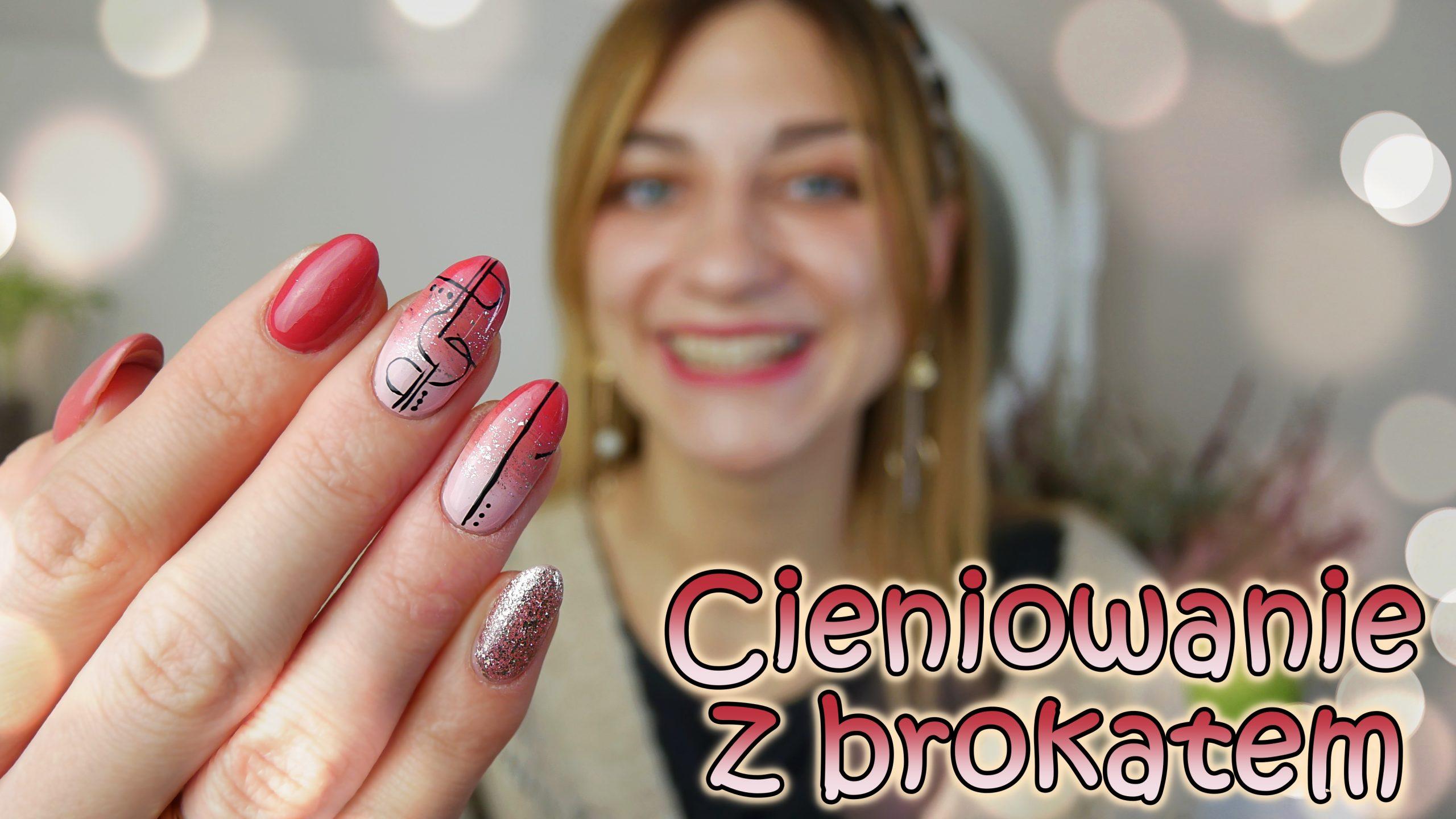 hybryda-brudny-róż-Maga-nailart-ombre-cieniowanie-pink-nails
