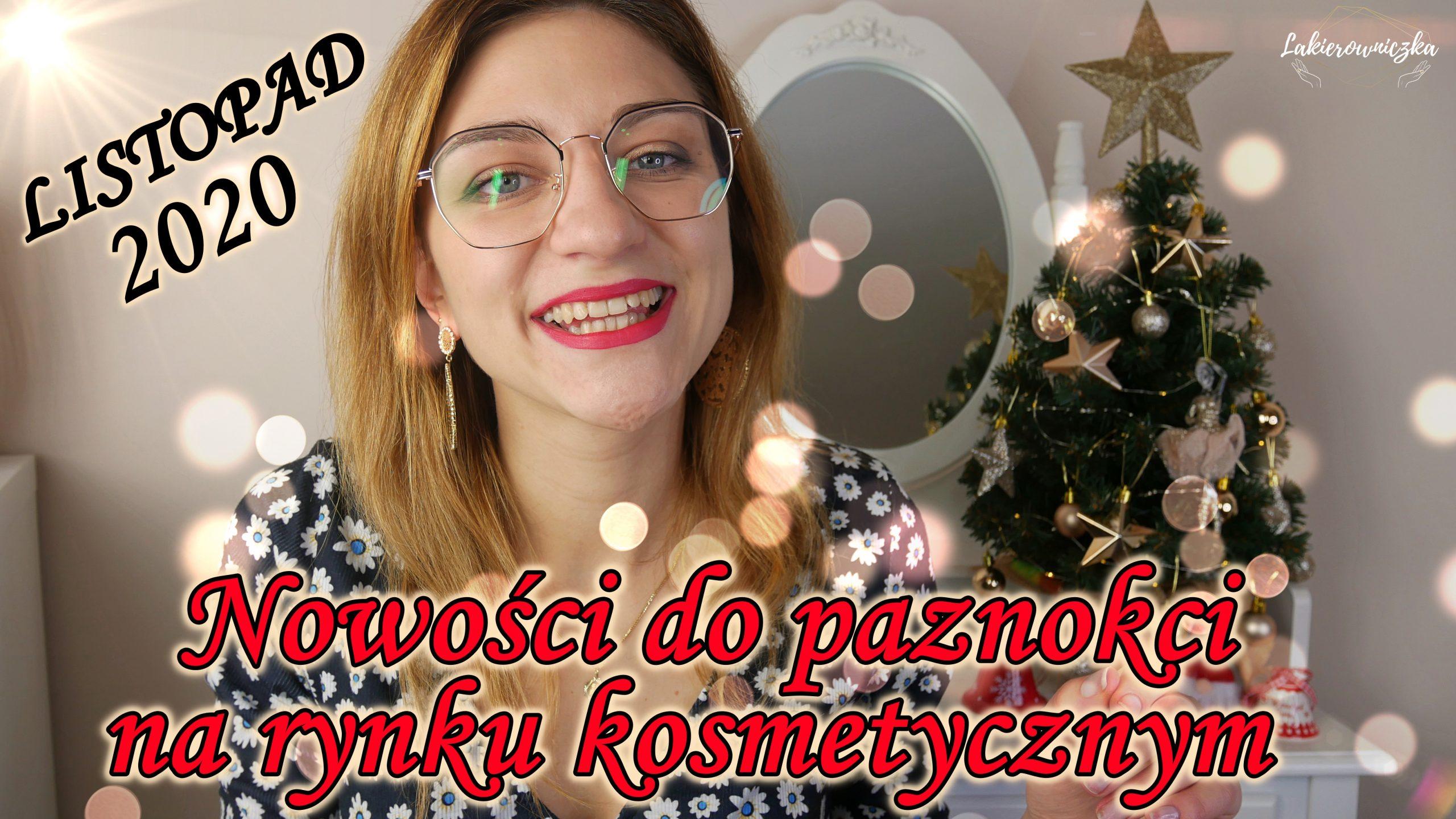 Zestawy świąteczne - Nowości do paznokci na rynku kosmetycznym - listopad 2020