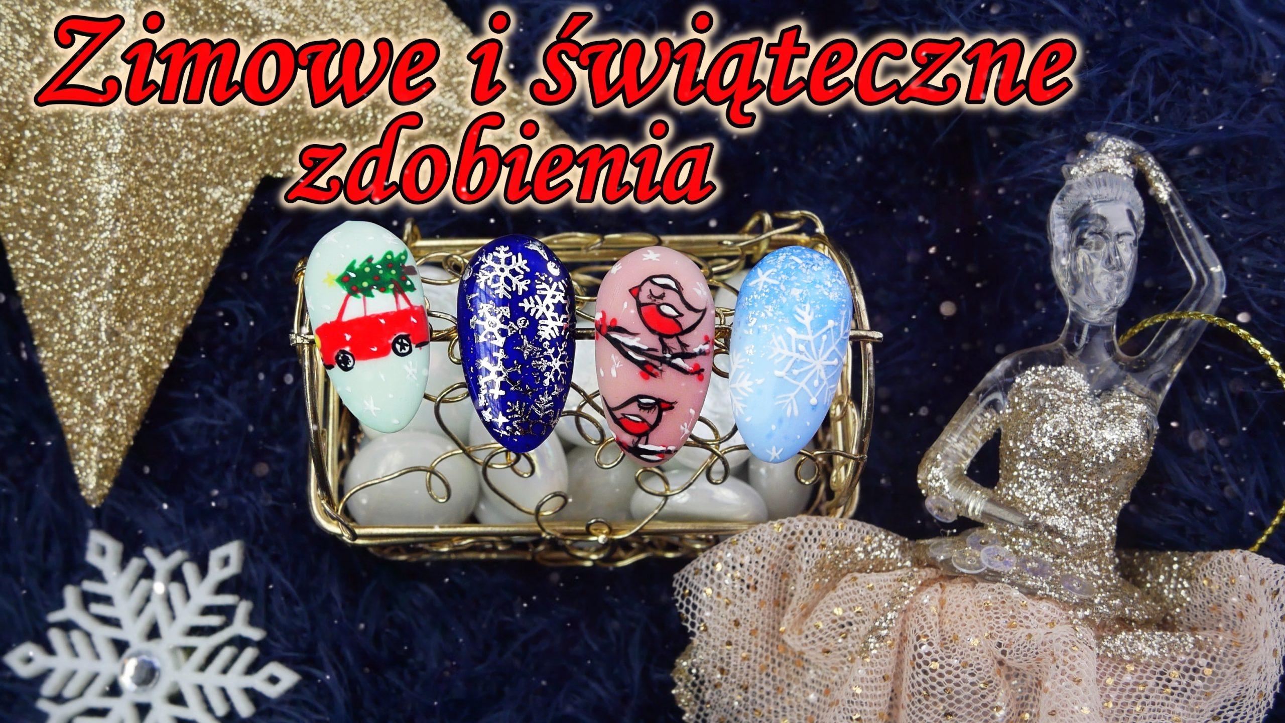 zimowe-paznokcie-hybrydowe-świąteczne-winter-nails-christmas-Lakierowniczka