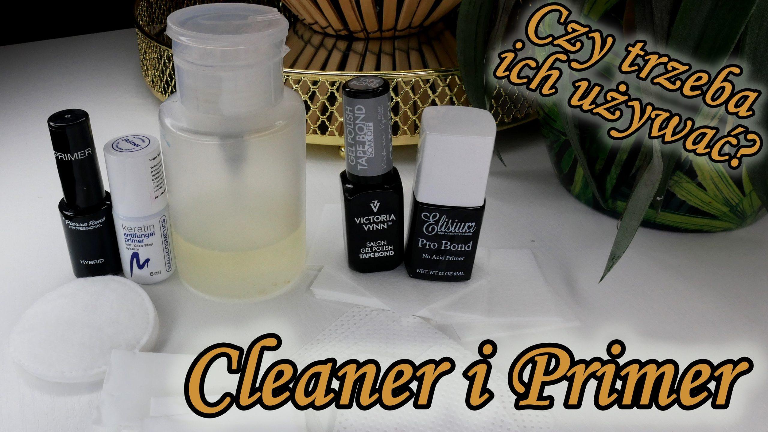 Szkolenia online 42021 – Odtłuszczanie paznokci cleanerem+ aplikacja primera