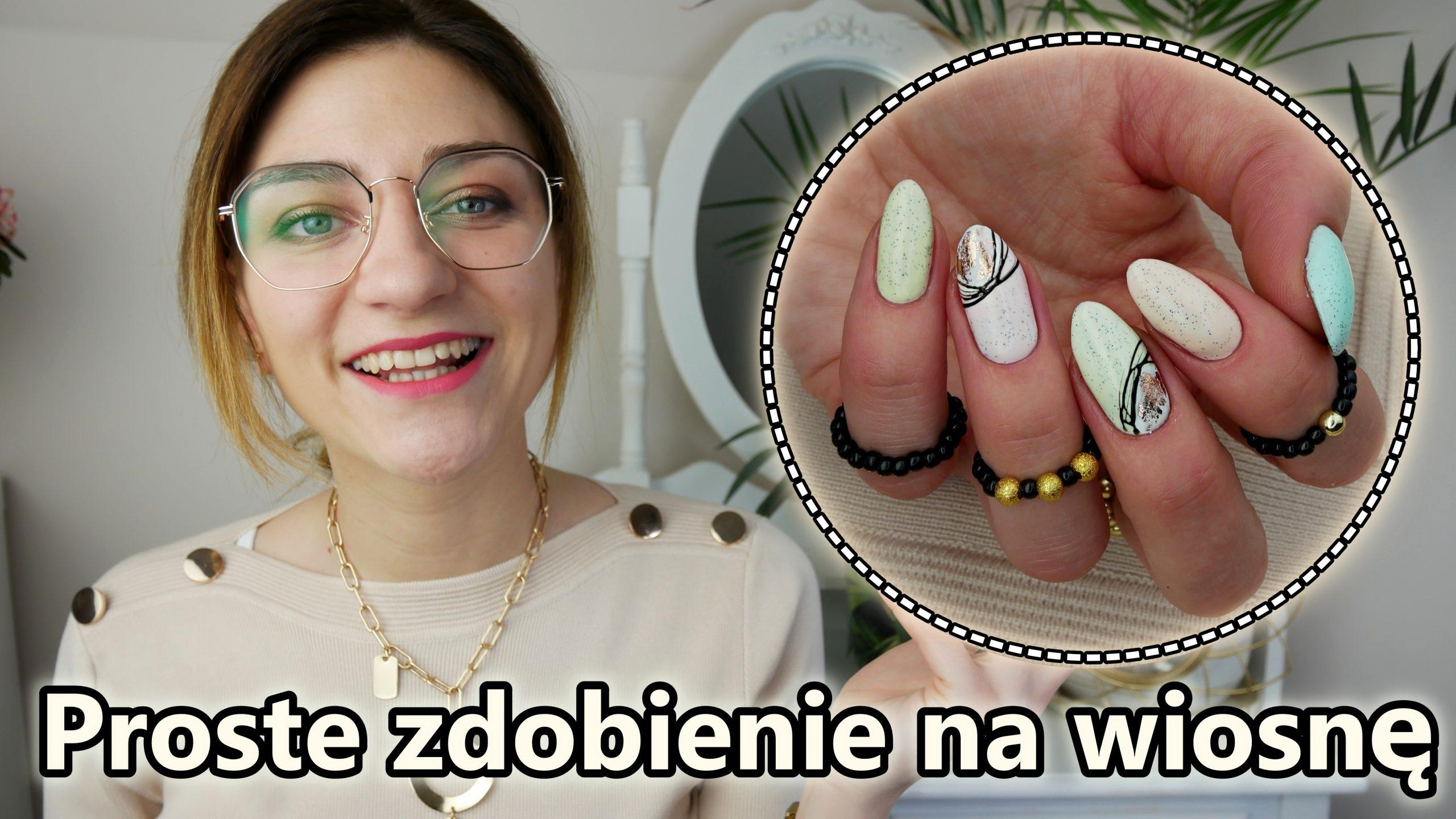proste-i-szybkie-paznokcie-na-wiosne-z-spider-gelem-folia-transferowa-Madam-Glam-Lakierowniczka