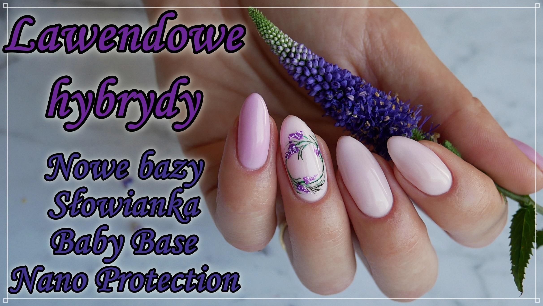 lawendowe-hybrydy-jasne-paznokcie-hybrydowe-Słowianka-Lakierowniczka-babypink-nails-tutorial
